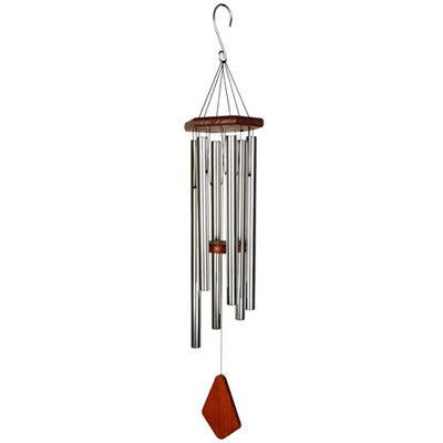 Natures Melody - Wind Chime - Silver 36""