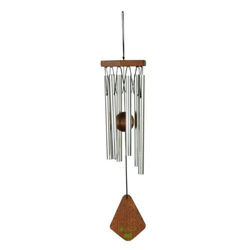 Natures Melody - Wind Chime - Silver 14""