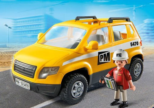Playmobil City Action: Construction Site Supervisors Vehicle #5470