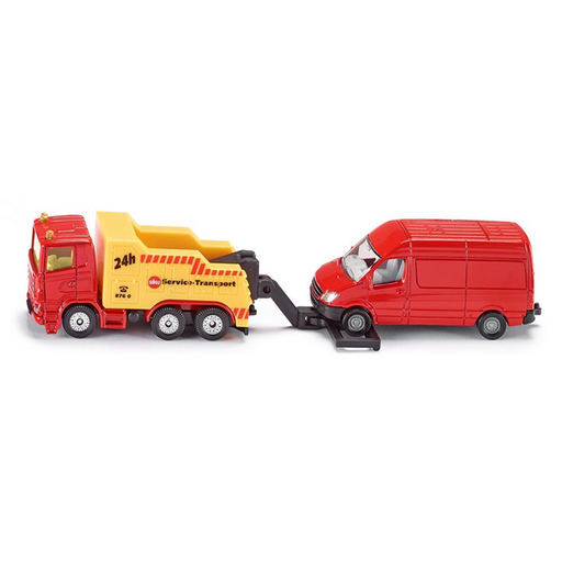 Siku: Scania Heavy Tow Truck with Mercedes Van #1667