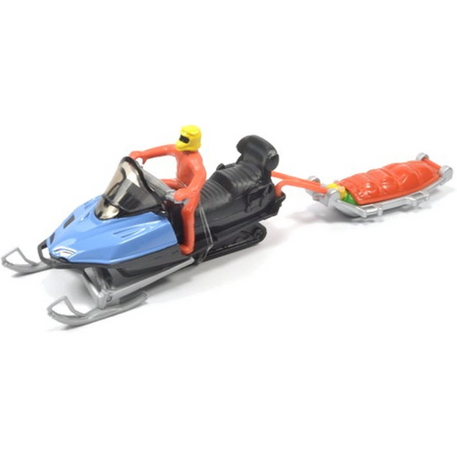 Siku - Snow Mobile with Rescue Sledge #1684