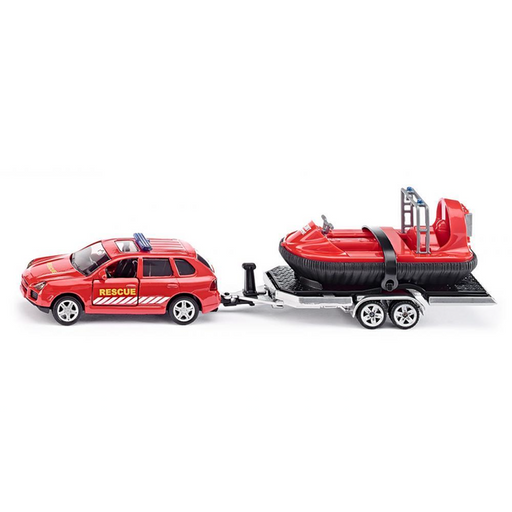 Siku - Porsche with Trailer & Rescue Hover