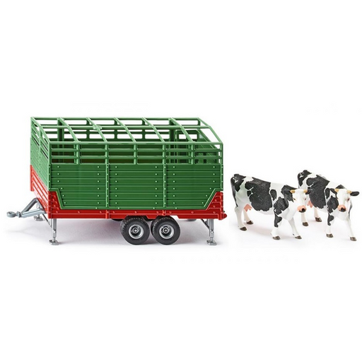 Siku - Stock Trailer with Two Cows #2875