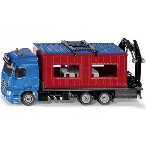 Siku - Mercedes Truck with Portable Container #3556