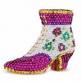 3D Sequin Art - Shoe