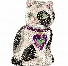 3D Sequin Art - Cat