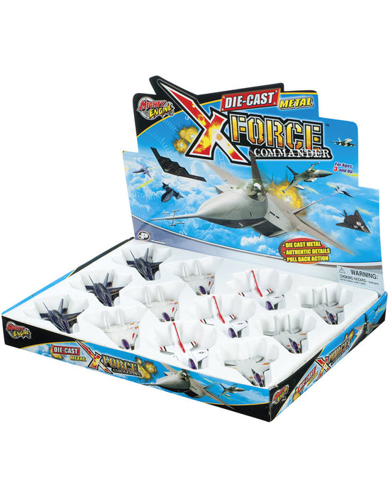 Toysmith - X Force Commander Fighter Jet