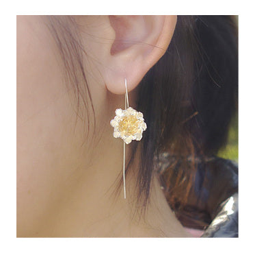 Wildside - Drop Earring Golden Lotus