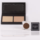 Contour & Highlight (Dark) + FREE Brow Fibre