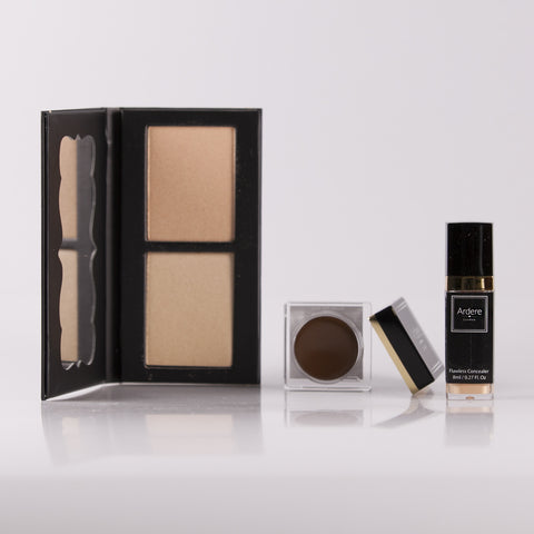 Flawless Base Gift Pack + FREE Brow Fibre