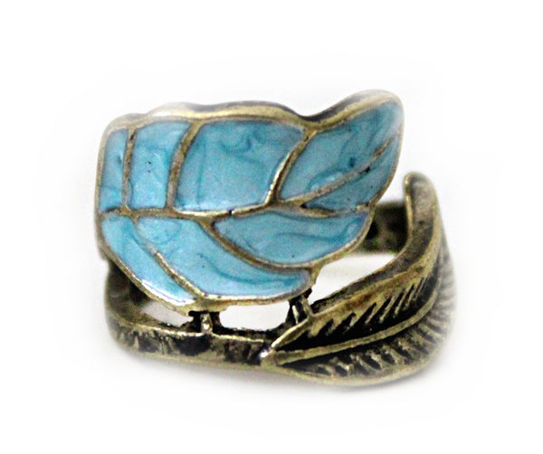 VINTAGE SWIRL LEAVE RING - PLUTO'S EGO - 2