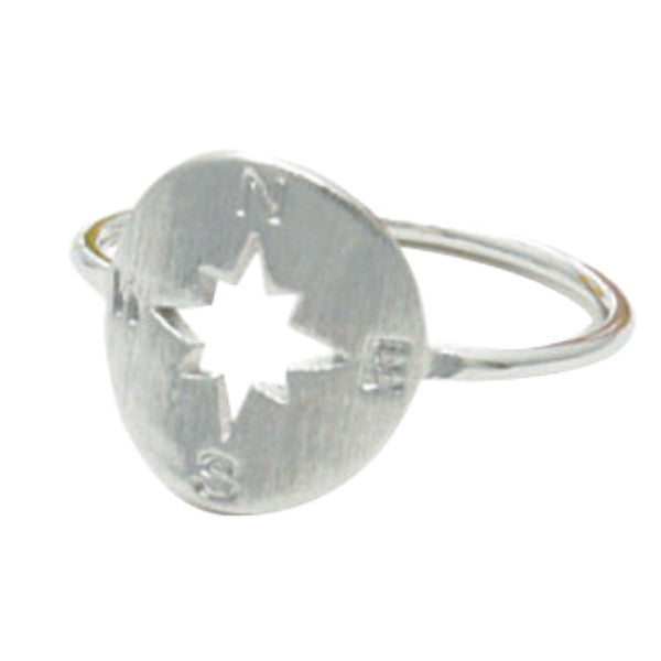 COMPASS RING *Rose gold or silver plated* - PLUTO'S EGO - 3