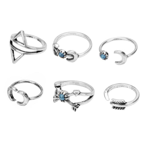 LEXI SET OF RINGS - PLUTO'S EGO - 1