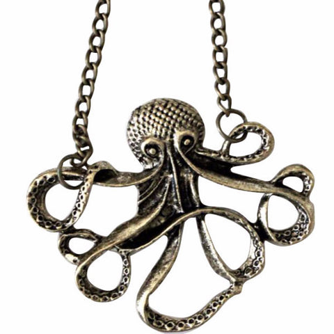NAUTICAL OCTOPUS THE CUDDLY NECKLACE - PLUTO'S EGO - 1