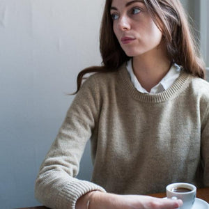 Inari Women´s Sweater / Linen Beige