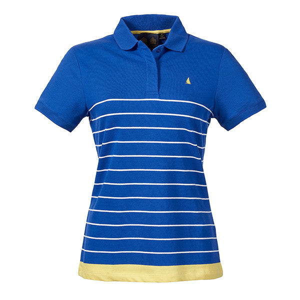 BIARRITZ STRIPE POLO