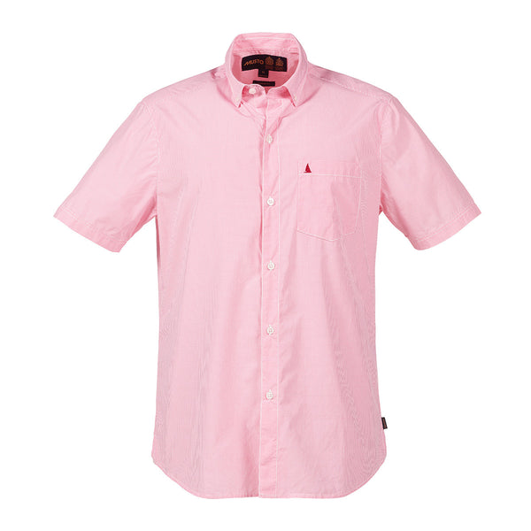 CHARLESTON SHORT SLEEVE GINGHAM SHIRT