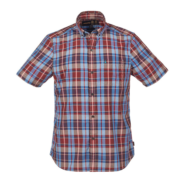 RAUL SHORT SLEEVE CHECK SHIRT