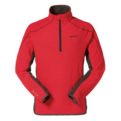ESSENTIAL ZIP NECK MICROFLEECE