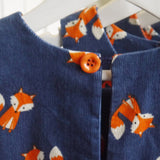 Winter Pinafore - Forest Fox