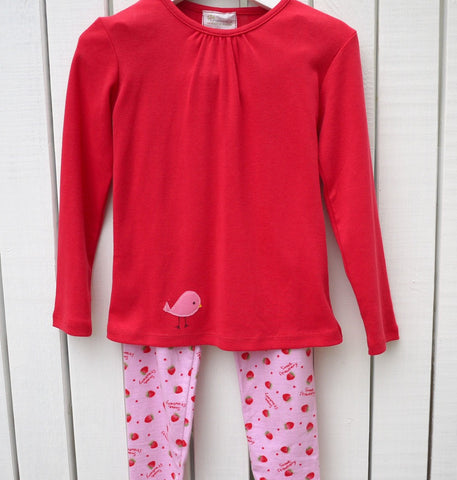 PJs - Strawberry Leggings