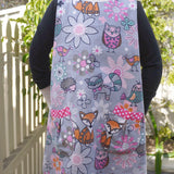 Winter Pinafore - Forest Animals
