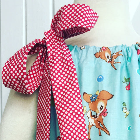 Swirl Dress - Little Deer