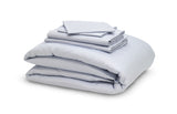 The Earth Company - 100% Pure Organic Eco Cotton Whole Bedsheet & Duvet Set - Grey Mist