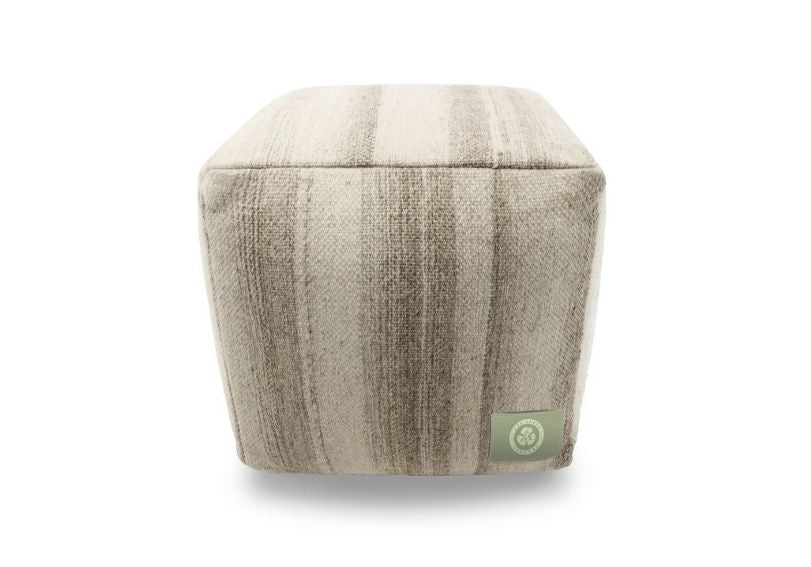 The Earth Company - 100% Pure Wool Pouf