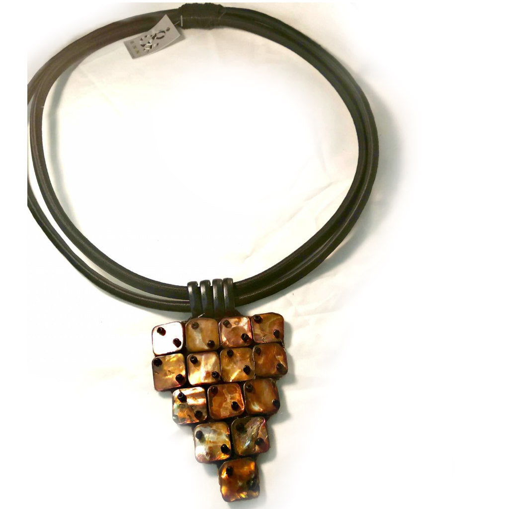 Mother of Pearl Tribal necklace