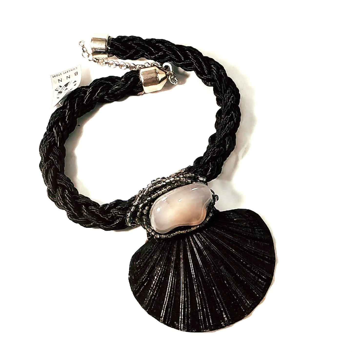 Scallop Shell Rope Choker