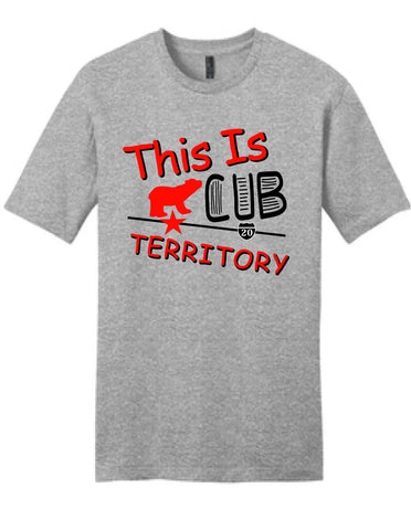 This Is Cub Territory - Fundraiser for Baird Jr High Tee - EXPIRES SEPTEMBER 2nd at noon!