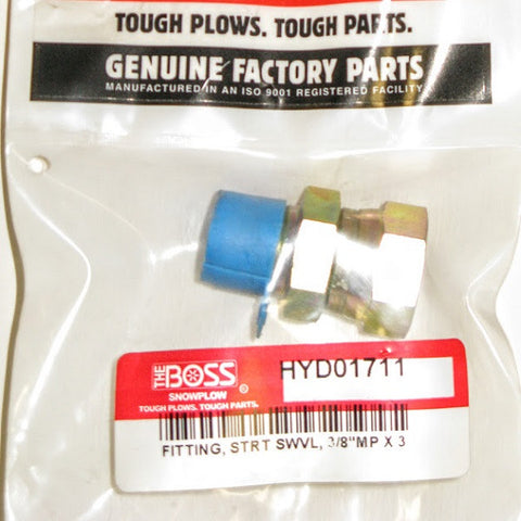 HYD01711 Fitting STRT Swivel
