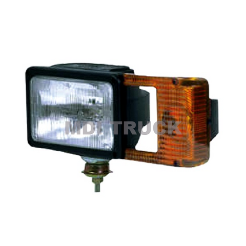 MSC04233 Headlight (DS) w/ Hardware