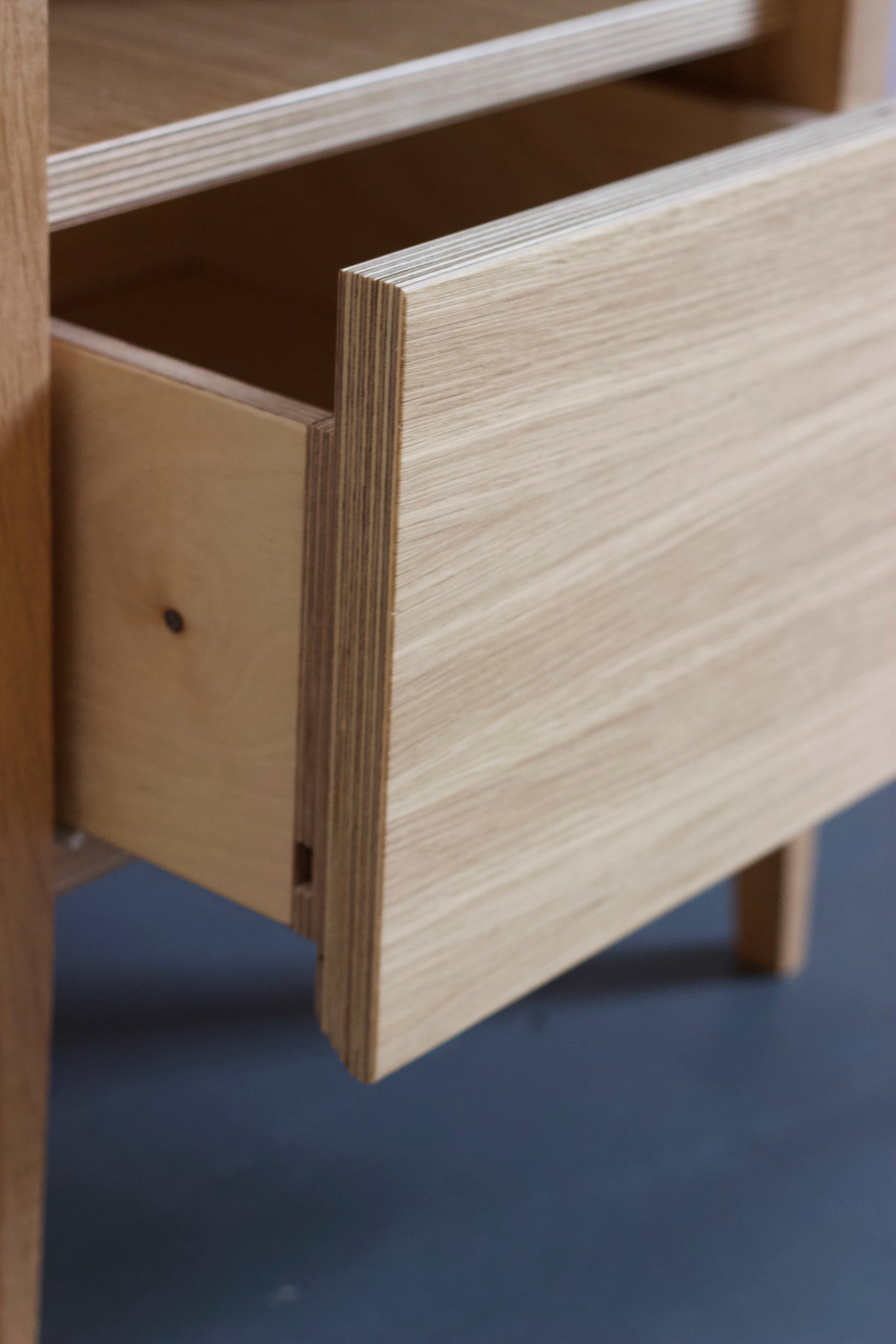Huxley Oak Bedside Table