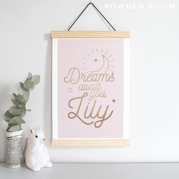 Dreams Await You Poster