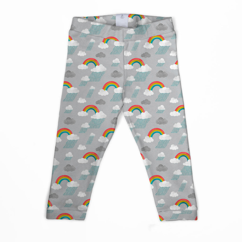 Watercolour Rainbow Classic Leggings Age 1-2