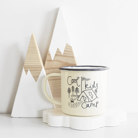 Cool Kids Camp Enamel Mug