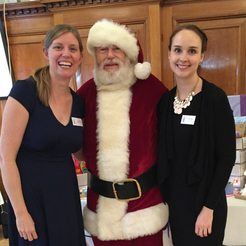 santa at Junior League of London Christmas Fair