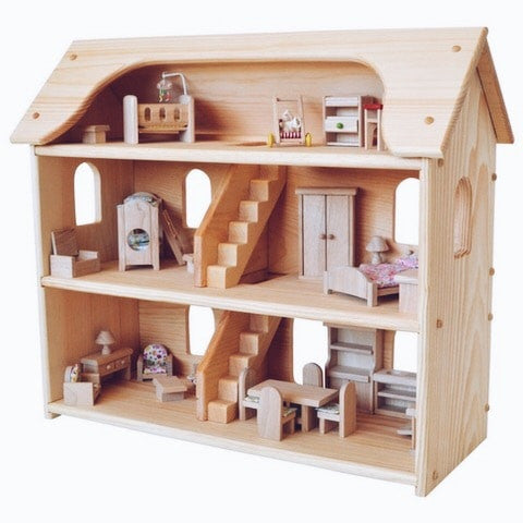 perfect fifth birthday present - dollhouse