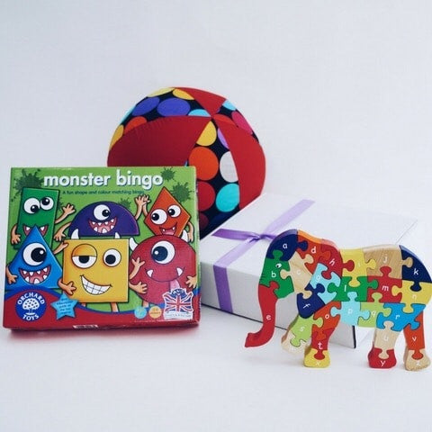 perfect fifth birthday present - play gift box be so baby