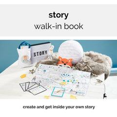 walk in story book for 4 years +