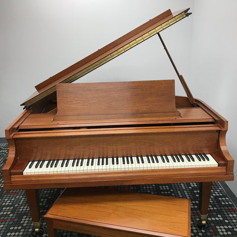Baldwin M Grand Piano Walnut Satin