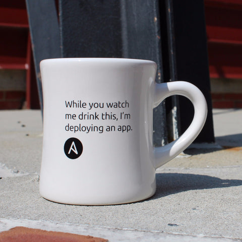 Deploying App Coffee Mug