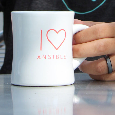 I Heart Ansible Coffee Mug
