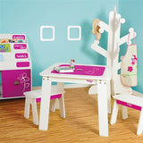 Chalk Table & Bench Set
