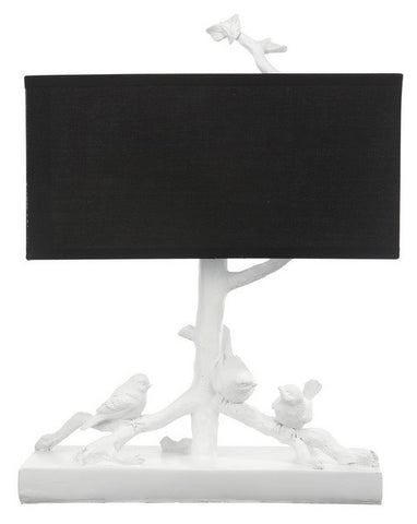 Bird On Branches Table Lamp