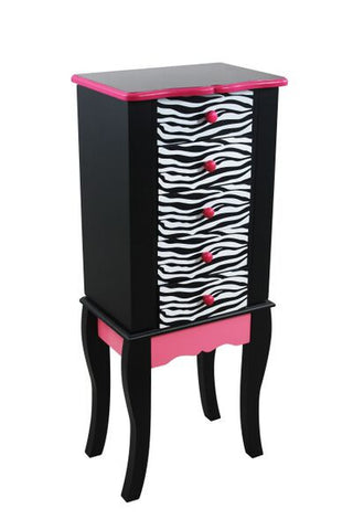 Animal Print Jewlery Armoire