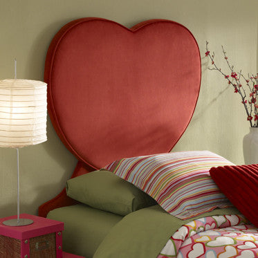 Heart Twin Sized Headboard