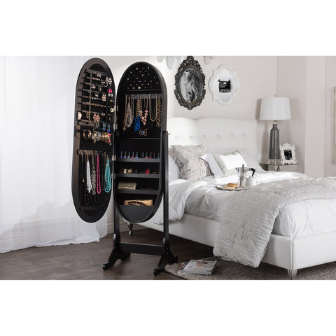 Apache Cheval Mirror Jewelry Armoire